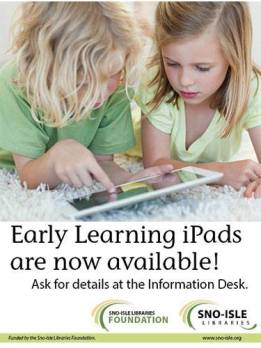 Early learning pads now available